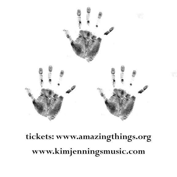 """Kim Jennings """"Here Now"""" CD Release is 05.10 at Amazing Things Arts Center, www.amazingthings.org"""