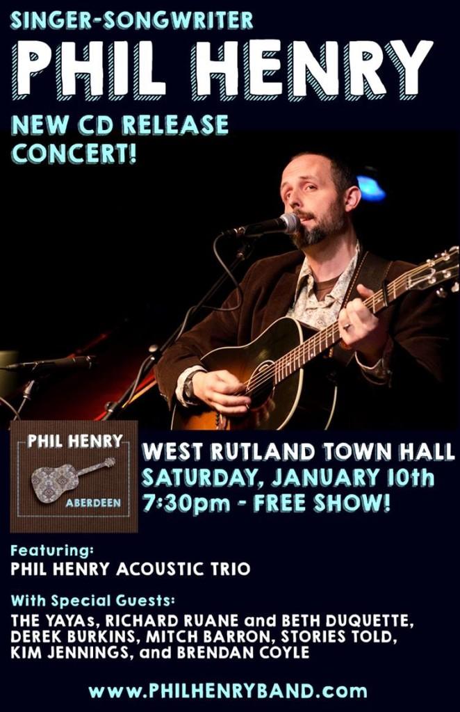 Phil Henry CD Release