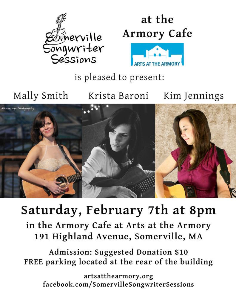 Somerville Songwriter Sessions Feb 7, 2015