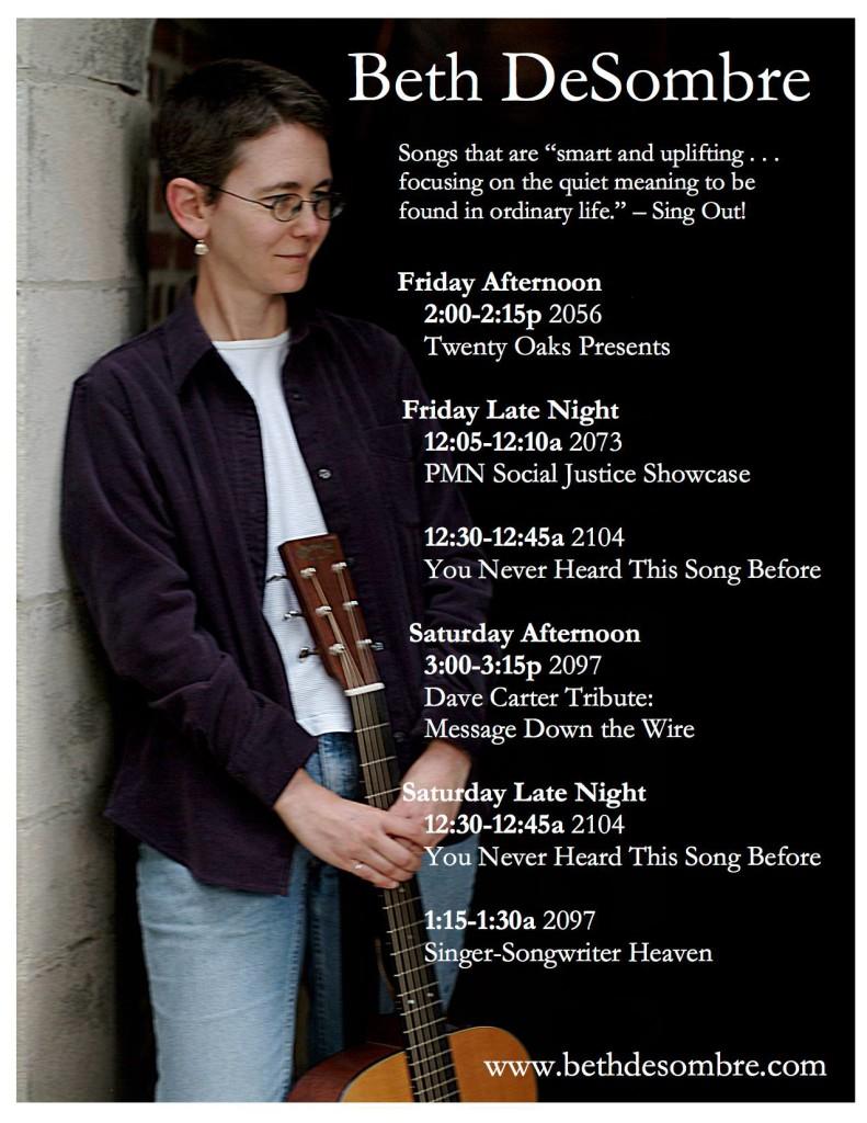 Beth DeSombre NERFA Schedule
